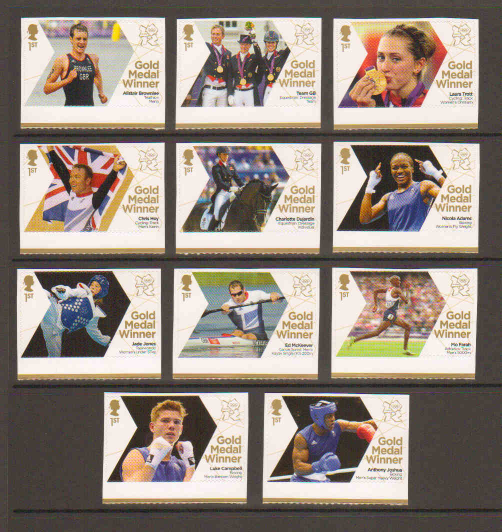 Great Britain Stamps 2012 Great Britain 2012 Olympic